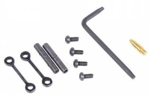 Guntec USA Guntec Ar15 Anti Rotation - Pin Set Black