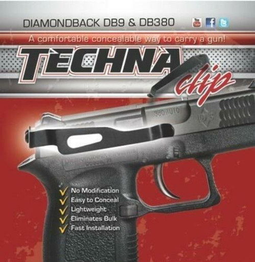 Techna Clips Techna Clip Handgun Retention - Clip Diamondback Db380/db9 Rs