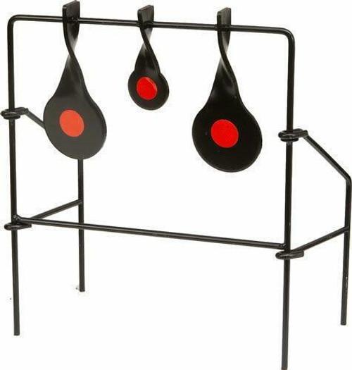 Allen Allen .22 Metal Triple Spinner - Target Black
