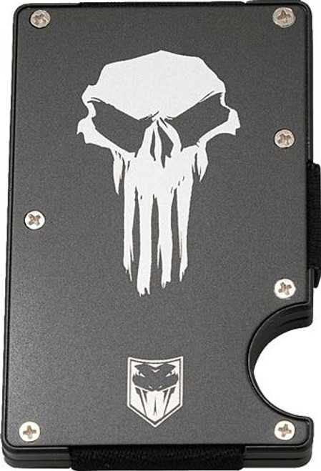 Cobratec Knives Cobratec Rfid Punisher Thin - Aluminum Wallet W/money Clip