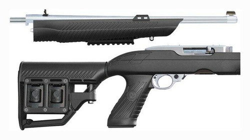 Adaptive Tactical Adtac Rm-4 Stock Ruger 10/22 - Take Down Tactical Black Syn