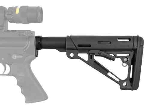 Hogue Hogue Ar-15 Collapsible Stock - Black Mil-spec W/buffer Tube