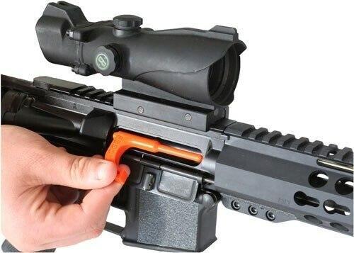 Fsdc Loaded Chamber Indicator - Safety Flags Orange Rifle 6pk