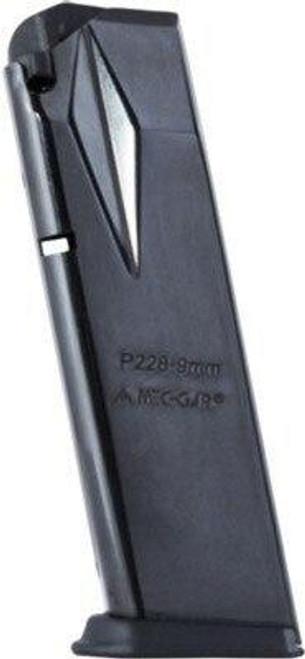 Mec-Gar Magazines Mec-gar Magazine Sig P228 - 9mm Luger 15-rounds Blued