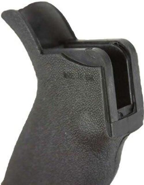 JandE Machine Tech Je Rubber Textured Pistol Grip - Ergo W/storage Black