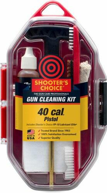 Shooters Choice Shooters Choice 40 Cal Pistol - Cleaning Kit