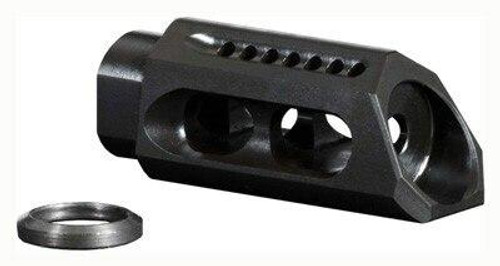 Yankee Hill Machine Yhm Slant Muzzle Brake/comp - 5.56mm For 1/2x28 Threads