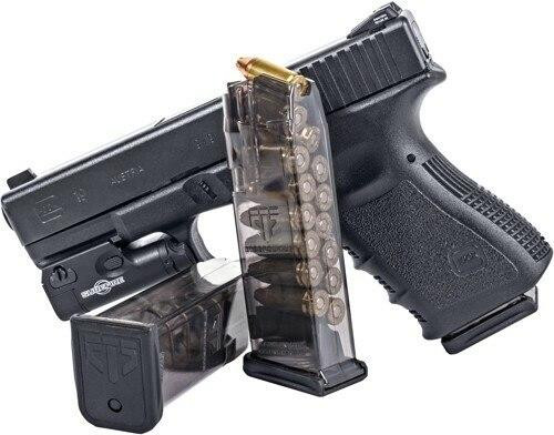 Elite Tactical Systems Group Ets Magazine Glock 19 9mm 15rd - Translucent Fits 19/26