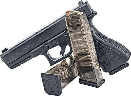 Elite Tactical Systems Group Ets Magazine Glock 22 40sw - 16rd Translucent 22/23/24/27