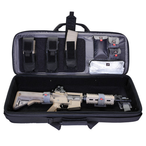 """Gps Tactical Hardsided Case 34"""" - Special Weapons Black"""
