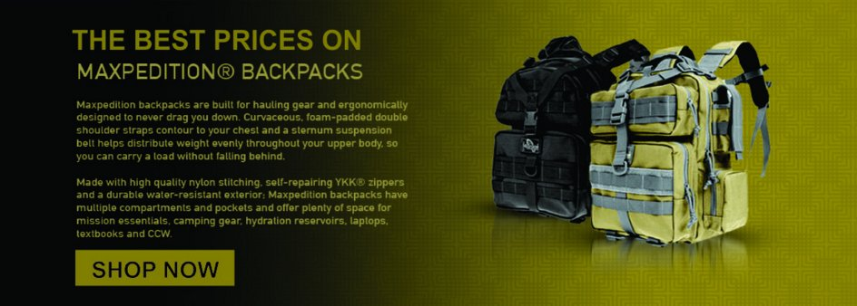 maxpedition backpacks on sale
