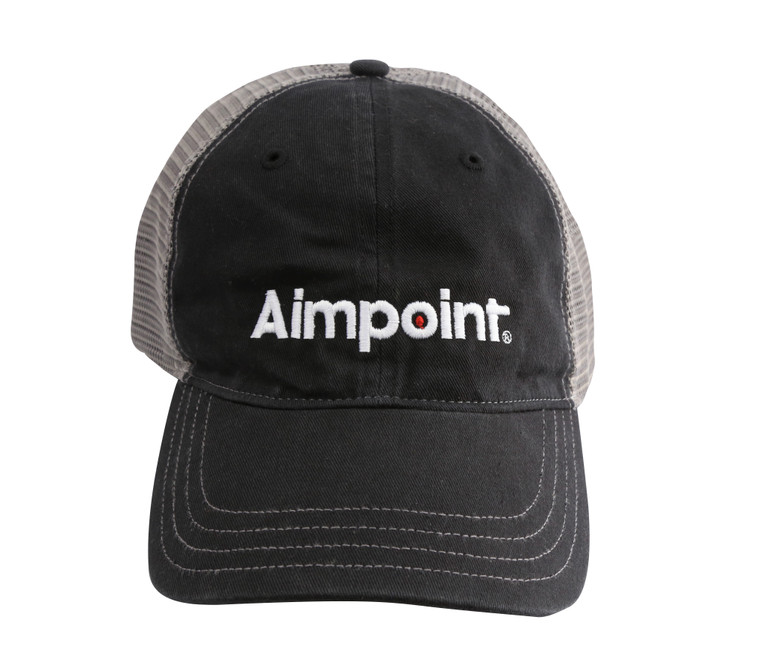 Aimpoint_Black_Charcoal_Tucker_Cap_Front