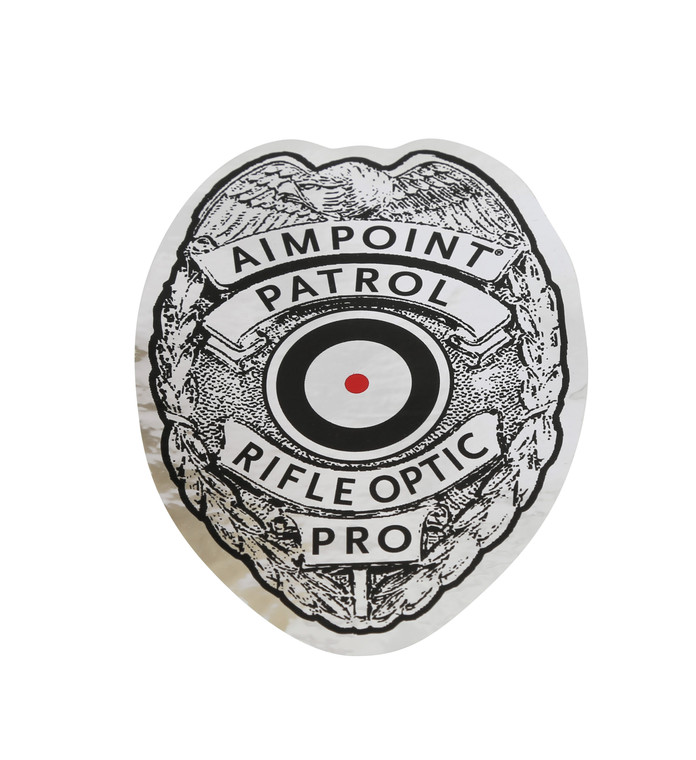 "Patrol Rifle Optic™ Stickers, Large (4.5""x3.25"")"