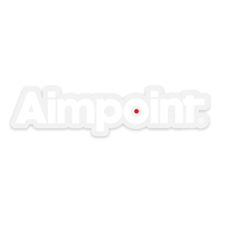 Aimpoint® White Die-cut sticker