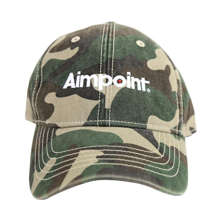 Aimpoint Camo Twill Hat_Front