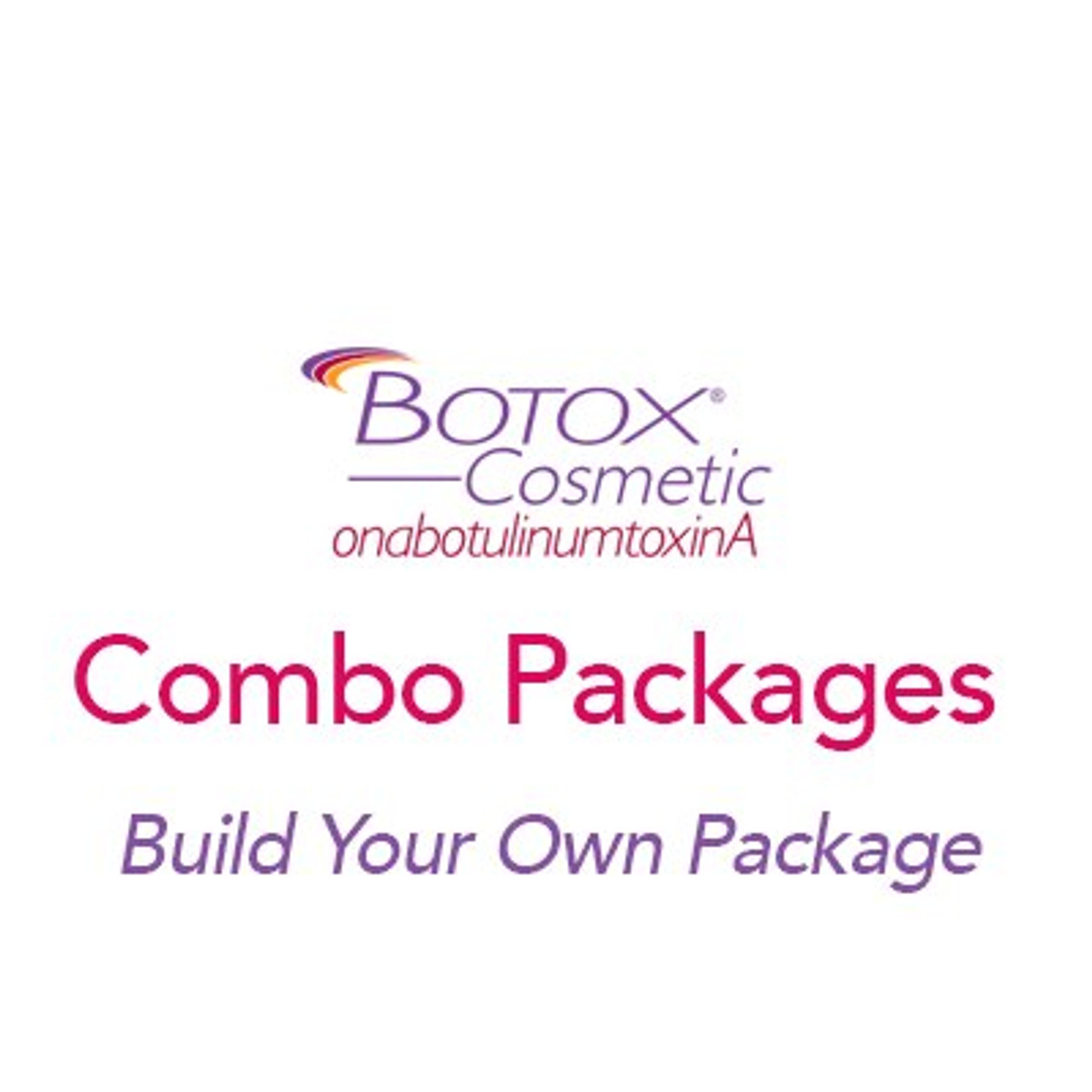 50 unit Botox/Filler Combo Package