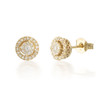 Tiny 0.25ct Diamond Stud Earring