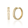 1.00ctw Diamond Hoop Earring