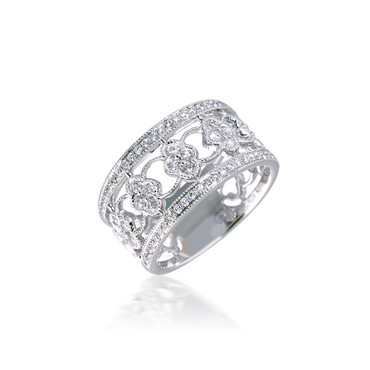 Intricate Cluster Diamond Spaced Band