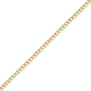 Classic 14K Yellow Gold Cuban-link Bracelet