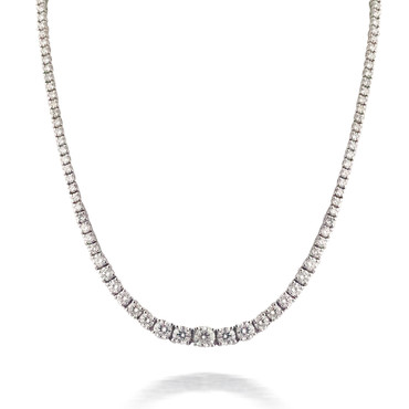 Diamond Tennis Necklace 2
