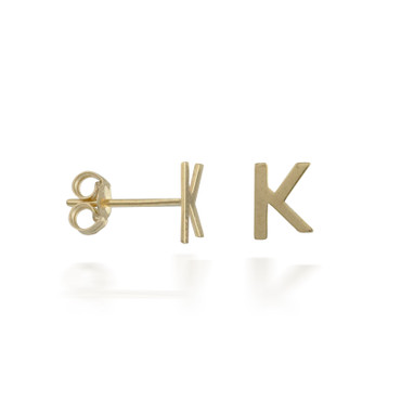 Customizable Letter Earrings