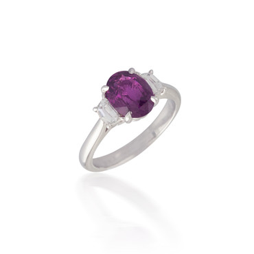 Pink Oval Sapphire