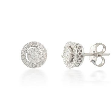 Tiny 0.25ct Diamond Stud Earring