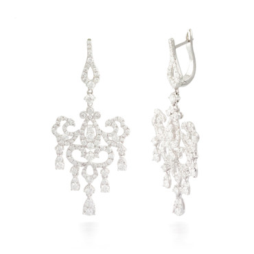 3.68ctw Diamond Earrings