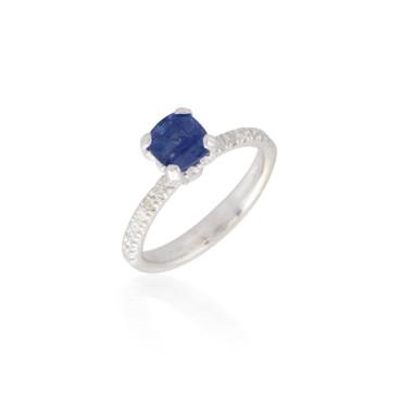 Sapphire and Diamond Ring 4