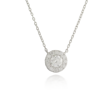 Circle Diamond Pendant 2
