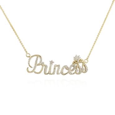 Princess Diamond Pendant
