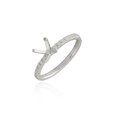 Diamond Engagement Ring Semi-Mounting 2