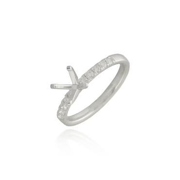 Diamond Engagement Ring Semi-Mounting 3