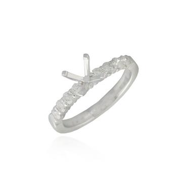 Diamond Engagement Ring Semi-Mounting 7