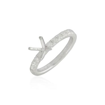 Diamond Engagement Ring Semi-Mounting 11