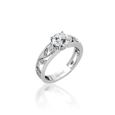 Simon G Vinyard Engagement Ring Setting