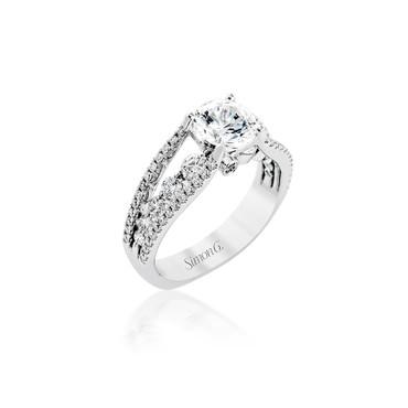 Simon G Allison Engagement Ring Setting