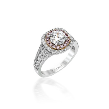 Simon G Sentiments Engagement Ring Setting