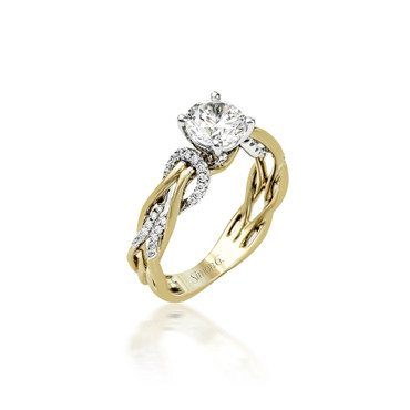 Simon G Infinite Love Engagement Ring Setting