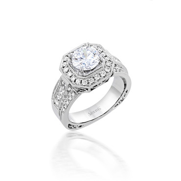 Simon G Sloane Engagement Ring Setting