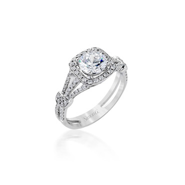 Simon G Enrobed Engagement Ring Setting