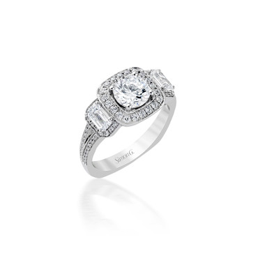 Simon G Melisende Engagement Ring Setting