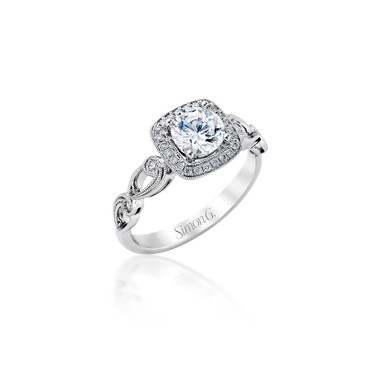 Simon G Brighad Engagement Ring Setting