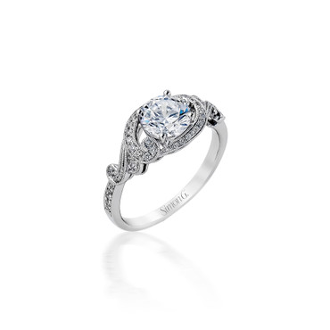 Simon G Paulina Engagement Ring Setting