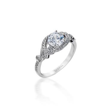 Simon G Paulina Engagement Ring Setting