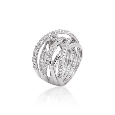 Bassali Wrapped in Love Diamond Ring