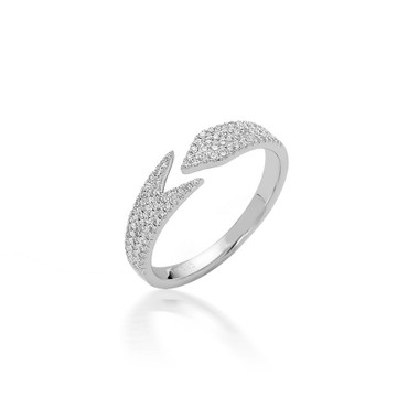 Bassali Open Arrow Diamond Ring