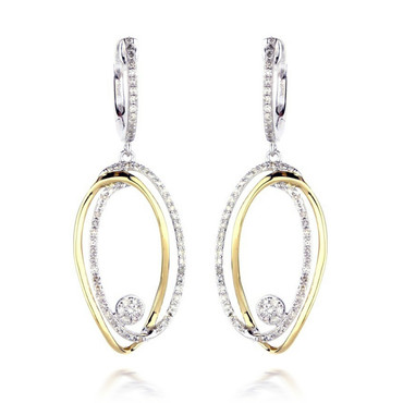 Madison L Dazzling Doubles Diamond Earrings