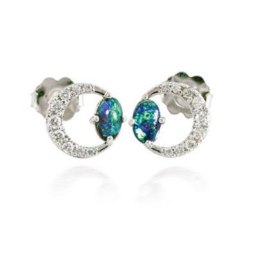 Moon Opal Earrings